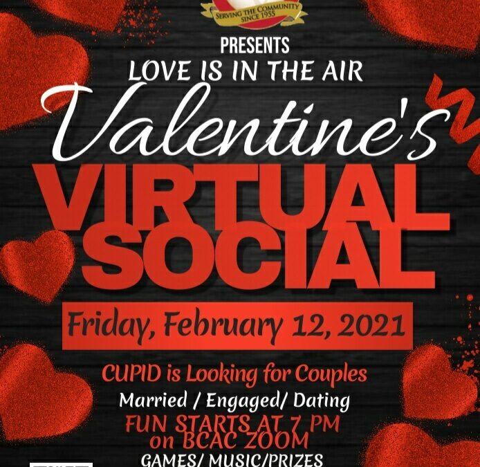Valentine's Virtual Social
